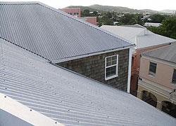 Corrugated Metal Roofs Are Popular For Many Reasons. Mainly Their Light  Weight Combined With Their Portability Make Them A Convenient Roofing  Material.